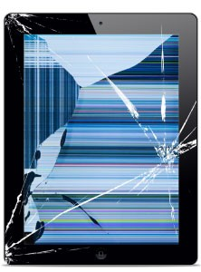 iPad Mini Broken Glass and LCD