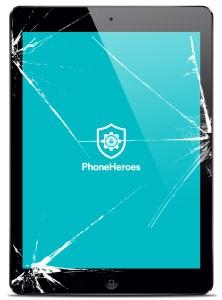 iPad Air Broken Glass